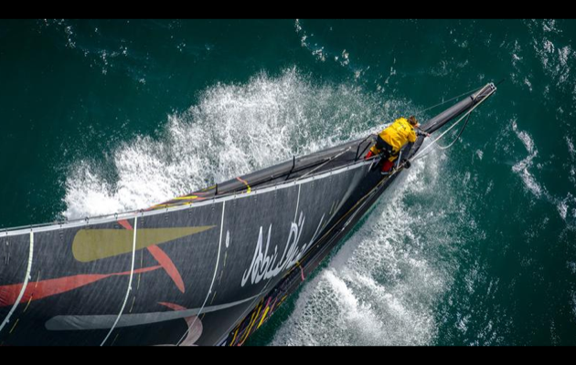 Rolex Fastnet Race August 11 - 16, 2013 COWES/PLYMOUTH, UK back to photo gallery Share on printShare on email Share on twitterShare on facebook Contact The current monohull race record remains the time set by ABU DHABI OCEAN RACE (UAE). Photo: Rolex/ Kurt Arrigo