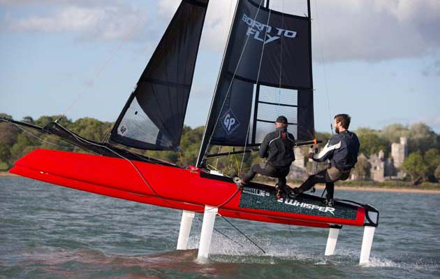 Formula Whisper How Easy Is It To Foil Yachting World