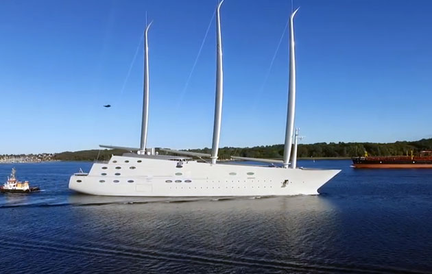 The world's biggest yachts – what's behind the growth of the