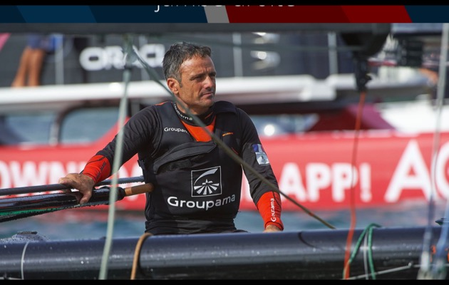 Franck Cammas, skipper of Groupama