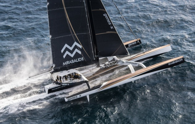 Spindrift 2 is on a round the world record attempt