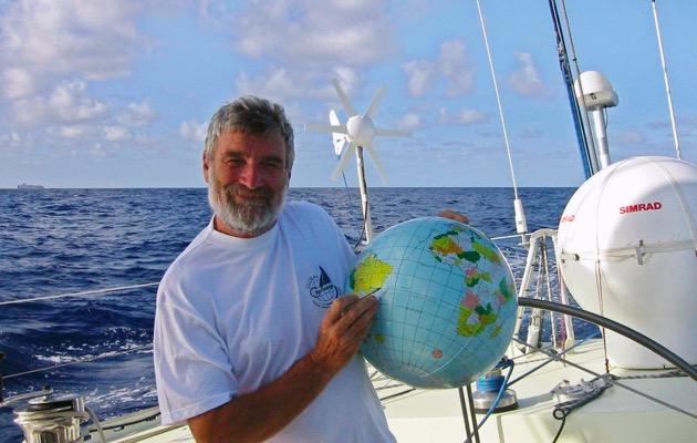 French solo sailor Jean-Luc Van Den Heede