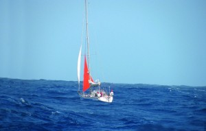 Rudder failure – 1,500 miles to sail across the Atlantic without a rudder