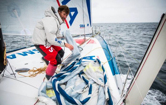 Paul Meilhat on IMOCA 60 SMA