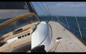 Onboard the Swan 115
