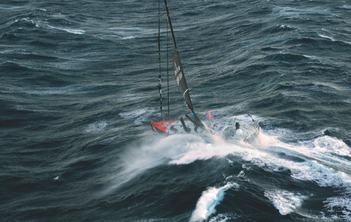 Dramatic Account Of How Mike Golding Rescued Alex Thomson