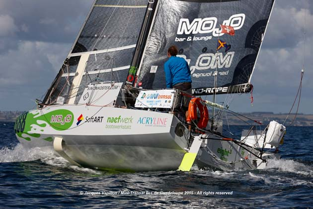 Eight Cube, Mini Transat boat with foils – Yachting World
