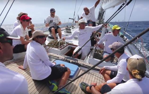 KIaloa III at Antigua Sailing Week