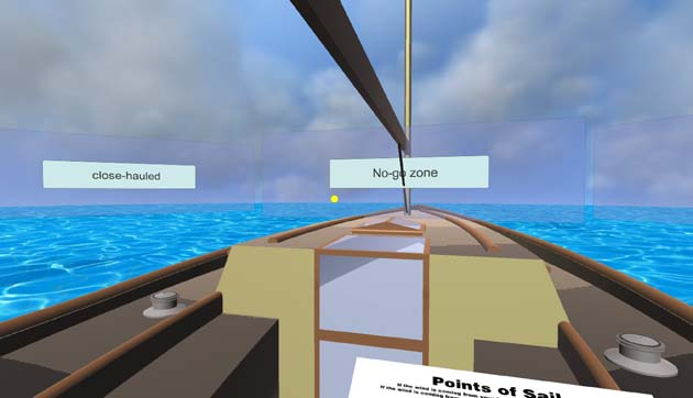 """12c72346aeb Greg Dziemidowicz thinks VR can be used to offer both sail training and  entertainment. """"I believe virtual reality can greatly enhance sailing  training"""