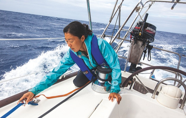 keep safe for an atlantic crossing \u2013 yachting world Laptop Harness yachting world
