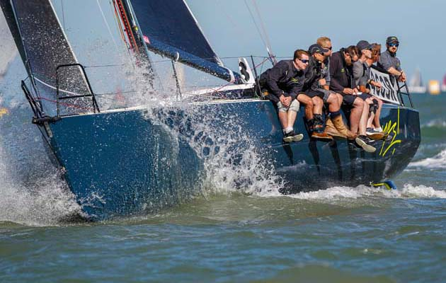 How JPK 10.80 Yes! was modified for inshore racing and won at Cowes Week
