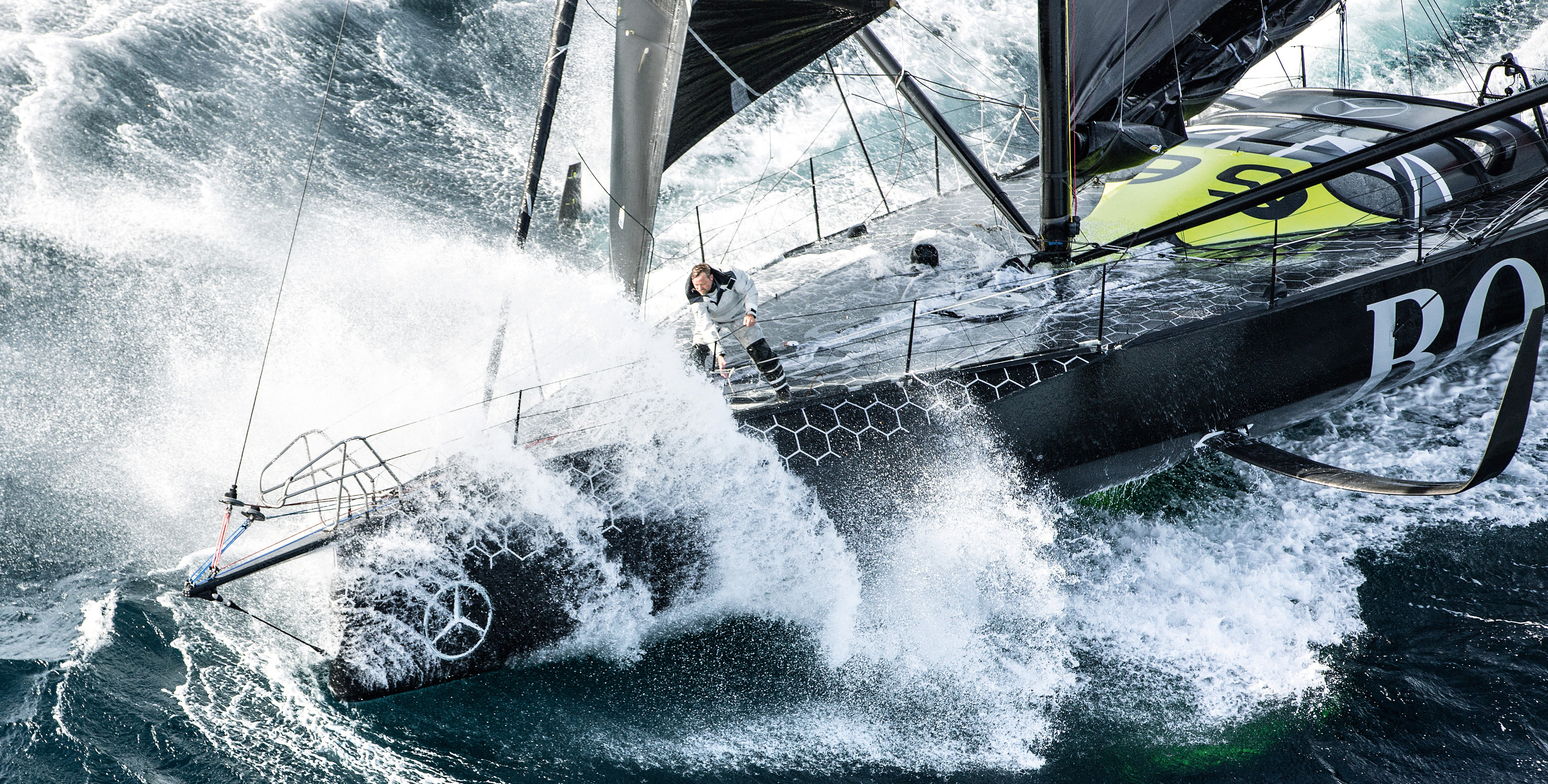 Alex Thomson out to win Vendée Globe with the solo race's most revolutionary speed weapon ...