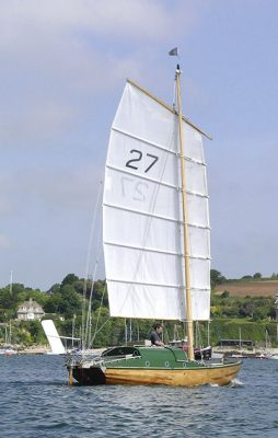 47. Jester. 1953, Blondie Haslar: With her unstayed Chinese 'junk' rig set on a modified 25ft Folkboat hull, Jester is unique. She was created by 'Blondie' Haslar, who sailed her in the 1960 race he established for fellow solo, Corinthian yachtsmen, from Plymouth to New York – at the time a revolutionary concept. The race was won by Francis Chichester in Gipsy Moth II, with Jester 2nd, and it eventually became the hugely successful OSTAR.