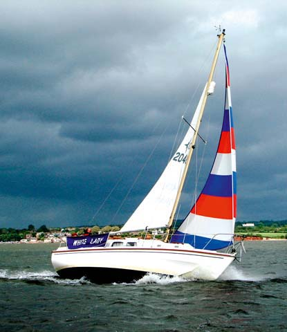 """48. Westerly Centaur. 1968, Jack Laurent Giles: """"This was the people's cruising boat, the 'floating country cottage',"""" comments David Glenn. """"She changed yachting by gettingfamilies afloat in their thousands and is still a much loved second-hand yacht."""""""