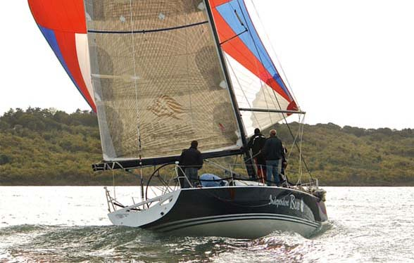 32. Independent Bear. 1997, Corby Yachts/Mark Downer: IRC is now a global rating, but in the 1990s it was known as CHS (Channel Handicap System) to reflect its Anglo-French focus. Isle of Wight designer John Corby built a 41ft one-off, Independent Bear, which was so successful under the rule that she demolished all opposition in her first season. Built of glassfibre and Kevlar with a lightweight foam core and carbon deck, she had a narrow beam but gained her stability with a very large keel bulb. Independent Bear's rating was raised a whopping 28 points the following year, but she still proved tough to beat. The CHS rule was adjusted, and saw a trend for wider IRC designs develop over subsequent years.