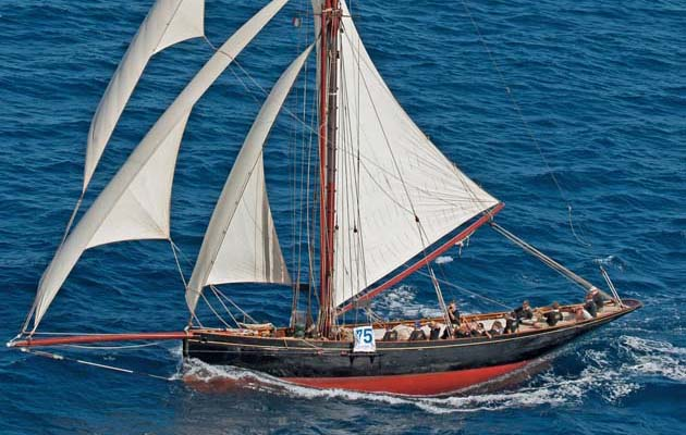 27. Marigold. 1892, Charles Nicholson: Nicholson was just 22 when he created this elegant 59ft gaff-rigged cutter with a plumb bow and distinctive stern. She proved successful both on the racecourse and as a cruising yacht, and launched the precocious Nicholson's career.
