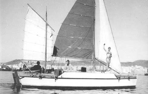 "26. Tangaroa. 1965. James Wharram: Wharram sailed the self-built 23ft plywood catamaran Tangaroa from Las Palmas to Trinidad in 1955. ""It is impossible to conceive of a vessel further removed from today's high-tech racing multihulls or luxurious cruising catamarans, yet without her many of them would never have been built,"" comments Tom Cunliffe."