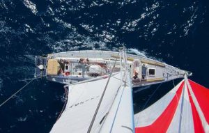 Sea Dragon is a former BT Challenge round the world racing yacht that has been refitted for use conducting ocean research