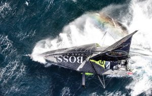 Alex Thomson racing, Vendee Globe 2016/7, in Hugo Boss