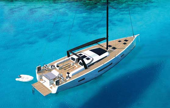 What is behind the surge in new 60ft plus yacht designs and