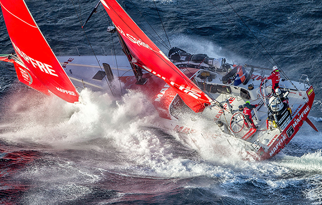 mapfre confirmed as third team for 2017 volvo ocean race