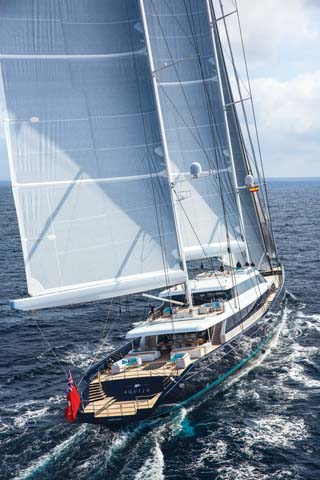 A look aboard Aquijo, the world's largest ketch