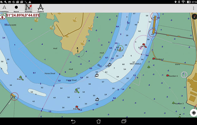 Iboating marine navigation app for ipad and android yachting world one of the least expensive apps available but still a great tool for basic planning gumiabroncs Image collections
