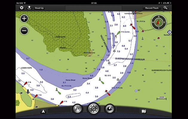 Garmin BlueChart Mobile app for iPad - Yachting World