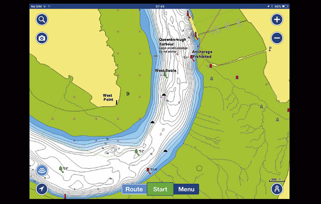Navionics and Navionics+ marine navigation app for iPhone, iPad and Android  - Yachting World