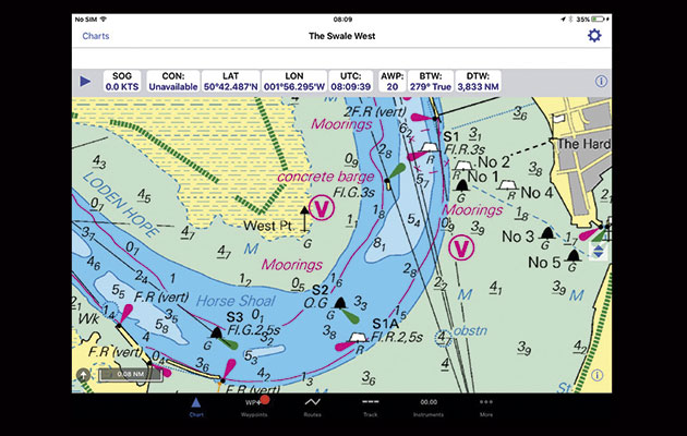 Inavx Marine Navigation App For Ipad And Iphone Yachting