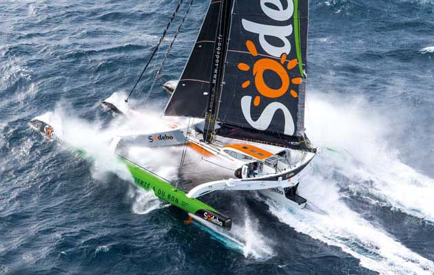 851 miles in a day – solo sailor Gabart sets incredible new