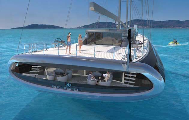 Endurance Is A 110m Expedition Superyacht Concept With