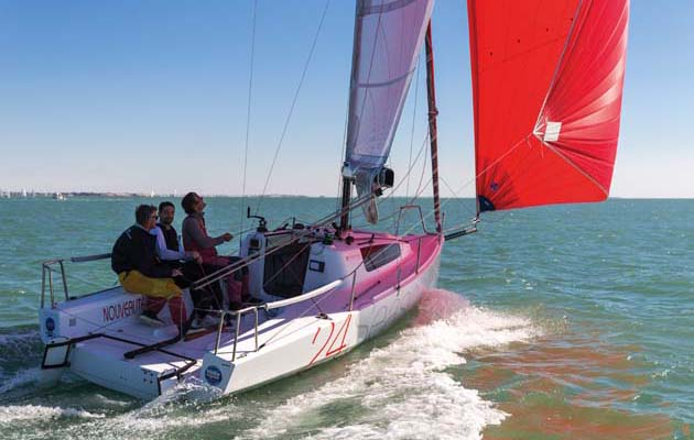 Seascape 24 – a pocket family sports cruiser that fits in an exciting and popular sailing niche