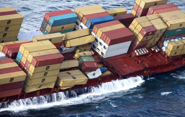 Could A Floating Shipping Container Sink Your Yacht How Real Is - Shipping containers