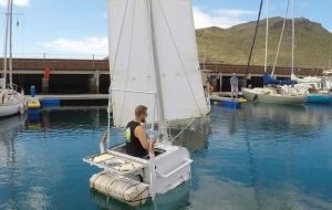 Undaunted – the 42-inch yacht still hoping to become the smallest boat ever to cross the Atlantic
