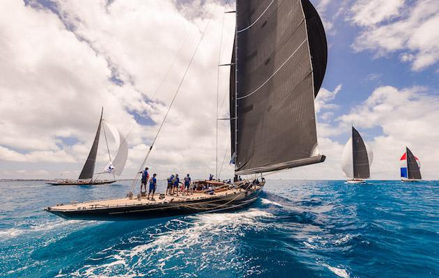 Sailing Race Wallpaper