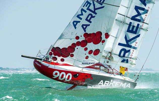 Arkema 3 – the innovative foiling Mini 6 50 aiming to win