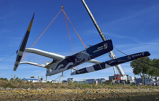 Revolutionary Gitana 17 trimaran to foil solo across oceans