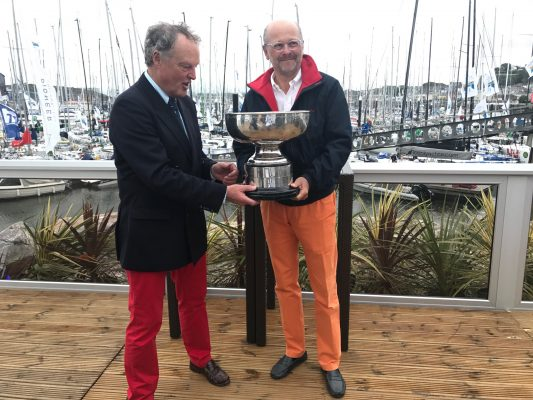 Les équipages français dominent au classement général de la Rolex Fastnet Race 2017