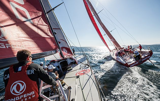 how to join volvo ocean race team