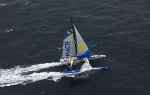 851 miles in a day – solo sailor Gabart sets incredible new sailing record in giant trimaran