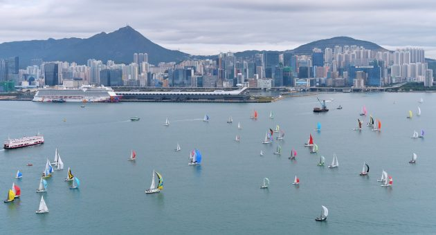 Around the Island Race in Hong Kong