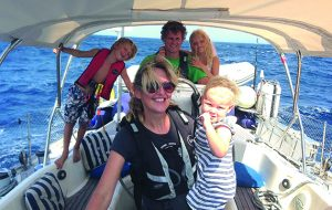 How this family made their two-year round the world sailing dream happen