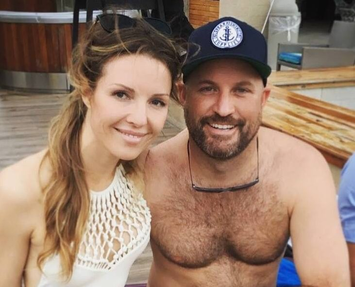 Kellie Peterson and David Weible owners of Lagoon 42