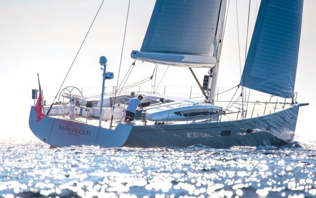 Manyeleti is hull number one in the Baltic 67 series