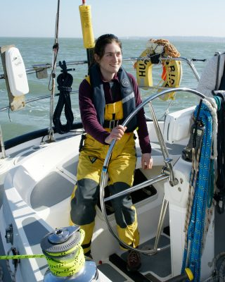 Rachael Sprot set up sailing business