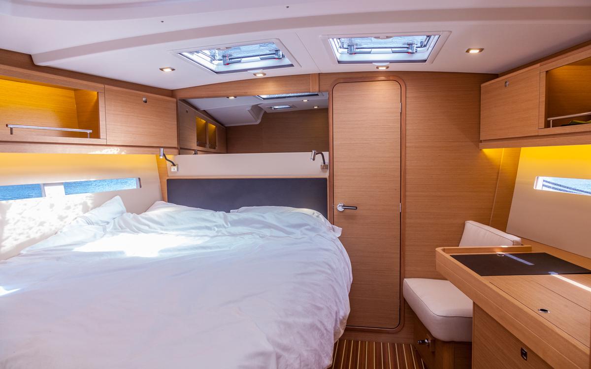 Dufour-56-exclusive-boat-test-interior-cabin-credit-david-harding