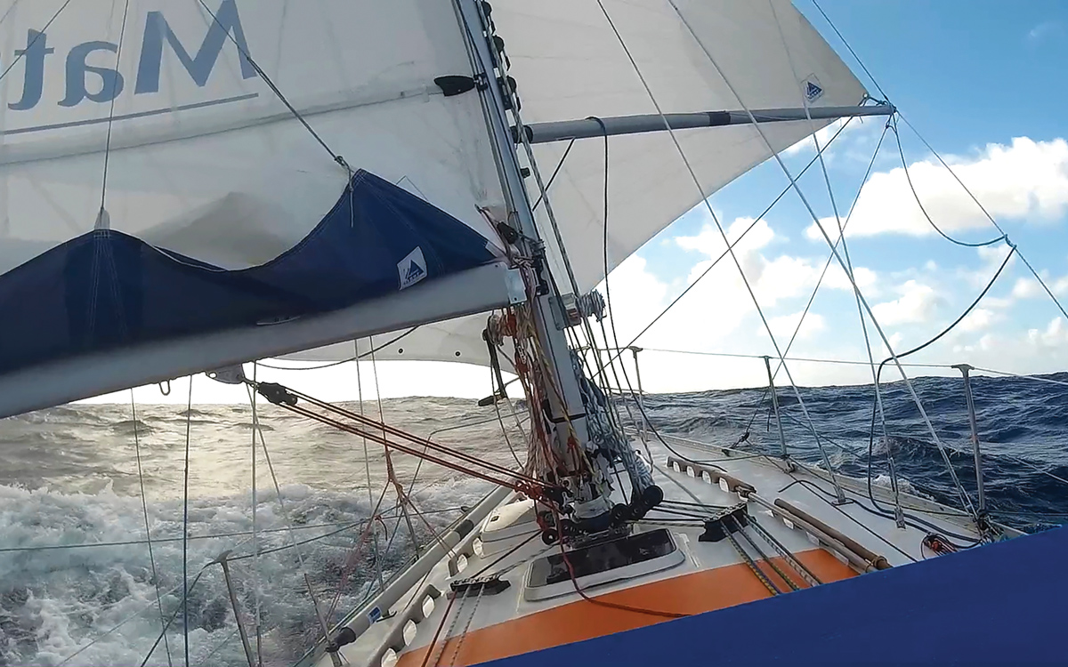 A Sailors Extraordinary Solo Race Around the Globe Taking on the World