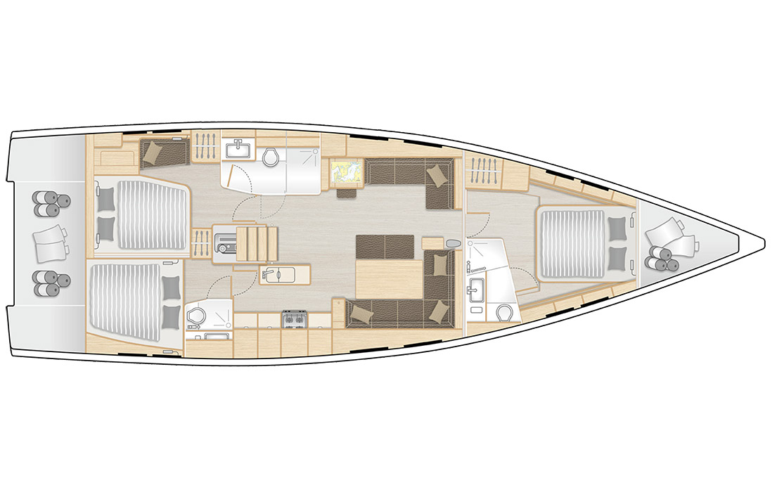 Hanse 548 review: The push-button 50fter that can be sailed