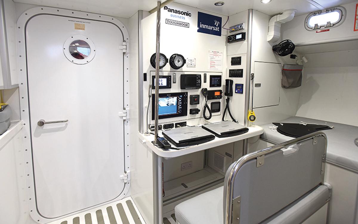 maiden-refit-tracy-edwards-sailing-yacht-nav-station-credit-rick-tomlinson